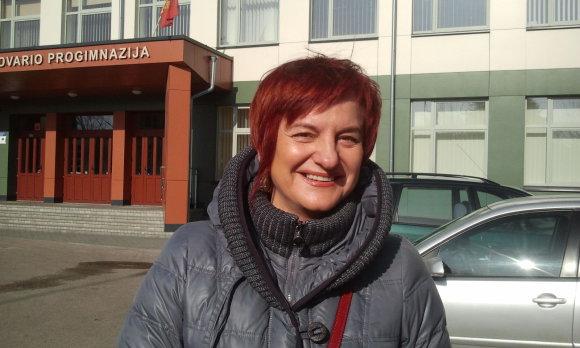 L. Sėlenienės nuotr/Snieguolė Kasabutskienė