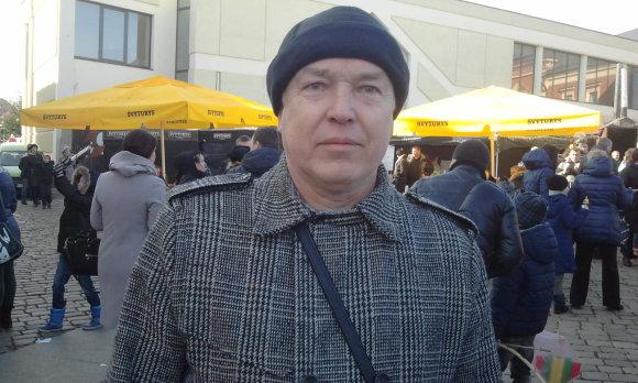 L. Sėlenienės nuotr./Klaipėdietis Romualdas