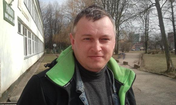 L. Sėlenienės nuotr./Klaipėdietis Kęstutis