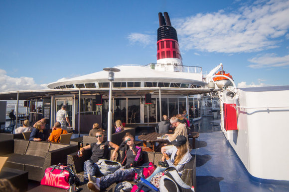 """""""Viking Line"""" kelte / Turas po Helsinkį / Gyčio Vidžiūno nuotr."""