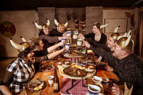 """Restoranas """"Viikinkiravintola Harald""""/ restorano nuotr."""
