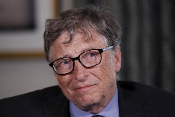 """Reuters""/""Scanpix"" nuotr./Billas Gatesas"