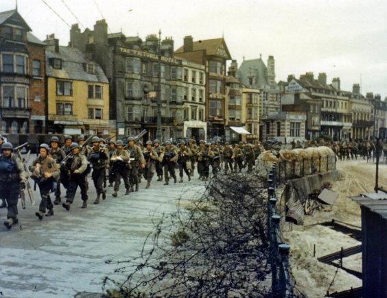 """""""Reuters""""/""""Scanpix"""" nuotr./JAv reindžeriai per Antrąjį pasaulinį karą"""