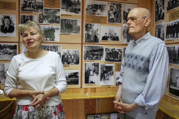 Justinos Butkutės/15min.lt nuotr./Irena Galdikaitė ir Algirdas Kazimieras Pečiulionis