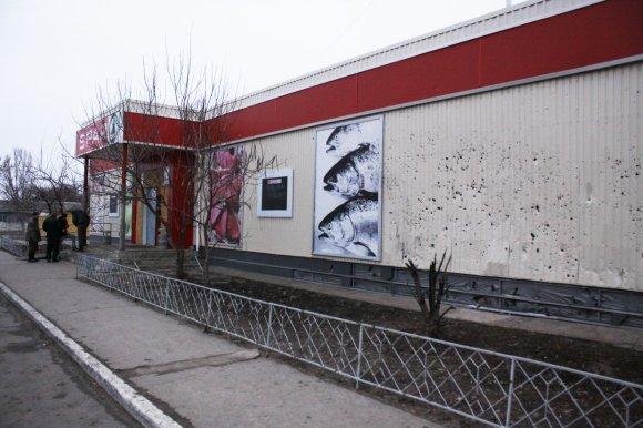 D.Pancerovo nuotr./Apšaudyta Sčastjės parduotuvė