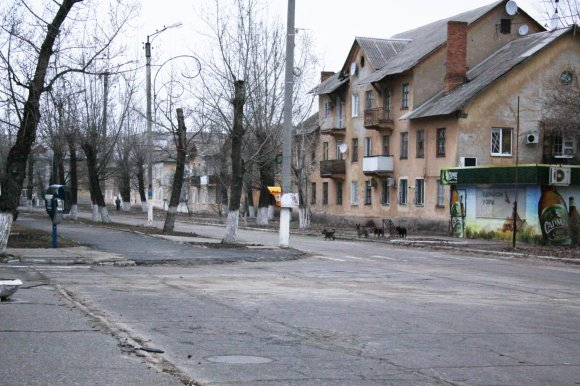 D.Pancerovo nuotr./Sekmadienio vakaras Sčastjės gatvėse