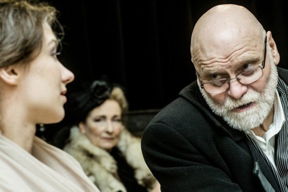 "D.Matvejevo nuotr. /Vilniaus mažajame teatre reperuojama pjesė ""Minetis"""