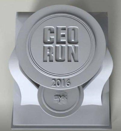 """Organizatorių nuotr./""""CEORun"""" medaliai"""