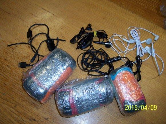 Draudžiami daiktai, kuriuos bandė pristatyto Praneviniškėse kalintiems asmenims