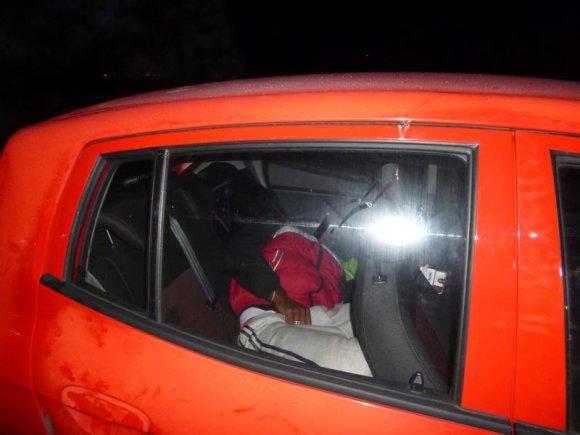 VSAT nuotr./Automobilyje vežtas nelegalas