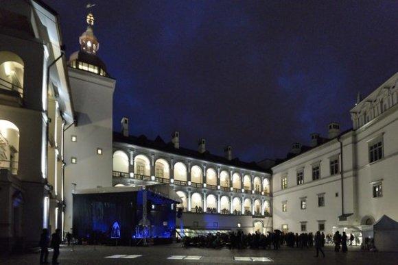 Organizatorių nuotr./Valdovų rūmai Kultūros naktyje