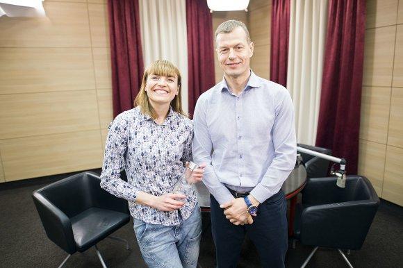 Karolio Mankausko nuotr./Vlada Musvydaitė ir Gediminas Tankevičius