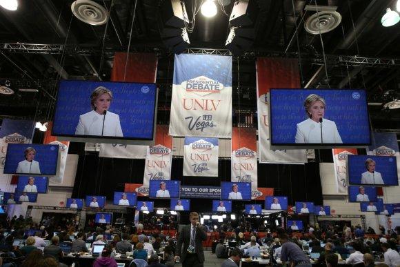 Paskutinieji kandidatų į JAV prezidento postą debatai