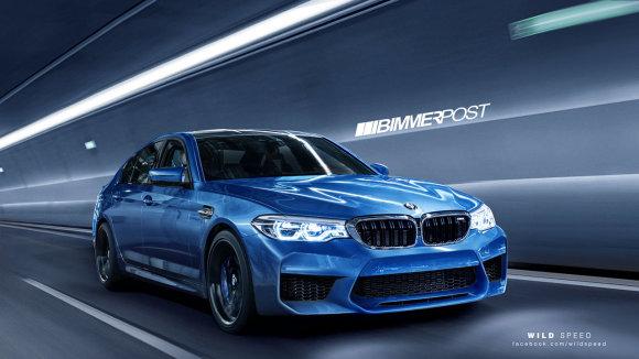 """""""Bimmerpost"""" nuotr./Būsimojo BMW M5 vizualizacija"""