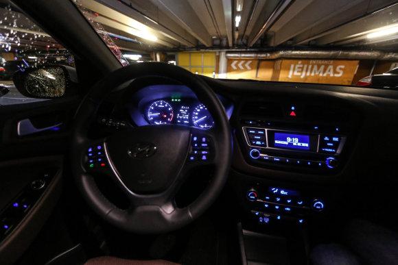 """Juliaus Kalinsko/15min.lt nuotr./Naujasis """"Hyundai i20"""""""