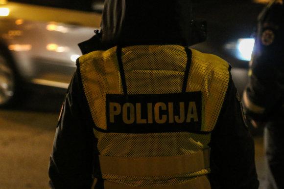 15min / Dainiaus Cuberos nuotr/ Asociatyvi nuotr. Policijos pareigūnas