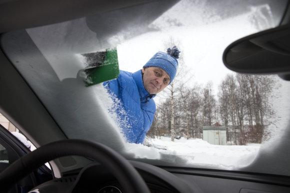 """UAB """"Neste Lietuva"""" nuotr./Automobilio priežiūra žiemą"""