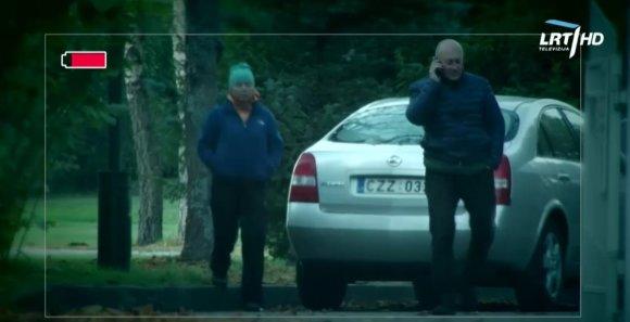 Stopkadras/Arūnas Kuzma su žmona – Antavilių vandenvietės teritorijoje