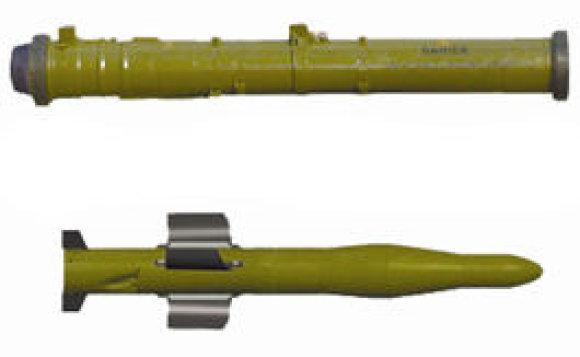 """Spectechnoeksport"" nuotr./Prieštankinė raketa ""Barjer"""