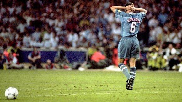 """Garethas Southgate'as po """"Euro 96"""" pusfinalio"""
