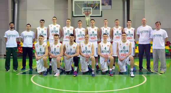 LKF/Lietuvos U-18 krepšinio rinktinė