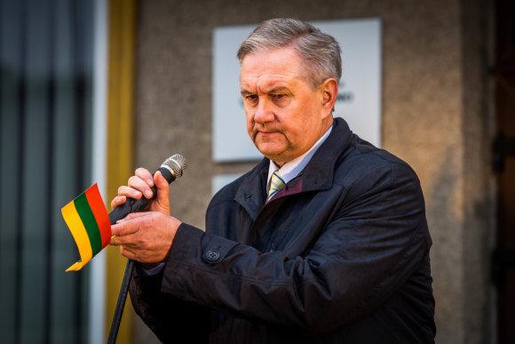 Vidmanto Balkūno / 15min nuotr./Seimo narys Vidas Mikalauskas