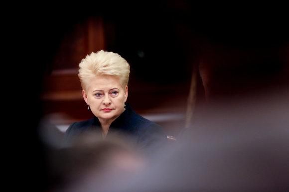 Vidmanto Balkūno / 15min nuotr./Dalios Grybauskaitė