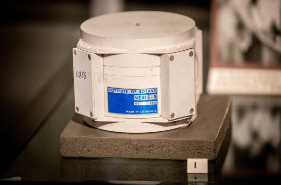 Vidmanto Balkūno / 15min nuotr./Neris-5 – aparatas, kuriame vykdytą eksperimentą į kosmosą iškėlė palydovas Bion