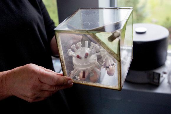 Vidmanto Balkūno / 15min nuotr./Pirmieji lietuvių kosminiai eksperimentai buvo vykdomi štai tokiuose inkubatoriuose