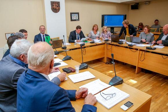 Vidmanto Balkūno / 15min nuotr./Seimo aplinkos apsaugos komiteto posėdis