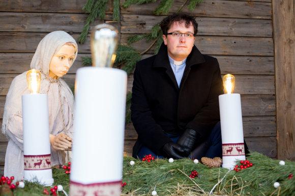 Vidmanto Balkūno / 15min nuotr./Kunigas Mykolas Sotničenka