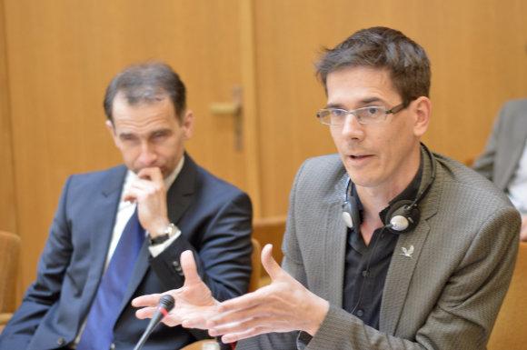 Konferencijos organizatorių nuotr./EP narys Bas Eickhout