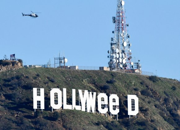 "AFP/""Scanpix"" nuotr./""Hollywood"" virto ""Hollyweed"""