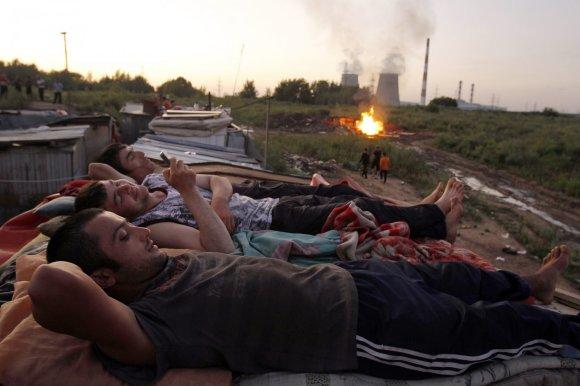 """""""Reuters""""/""""Scanpix"""" nuotr./Imigrantai Rusijoje"""