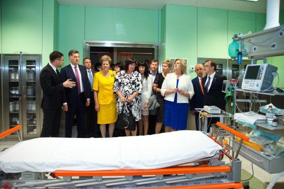 K. Šimatonio nuotr./Kaune atidarytas Traumų ir skubios pagalbos centras