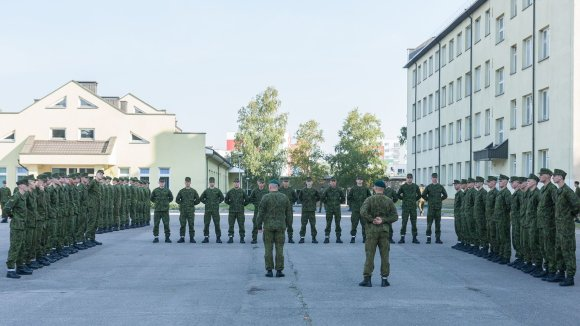 KAM nuotr./LDK Butigeidžio dragūnų bataliono savanoriai