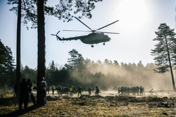 Pauliaus Čilinsko nuotr./Lietuvos kariuomenės greitojo reagavimo pajėgos