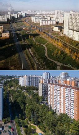 Vida Press nuotr./Maskva sovietmečiu ir šiais laikais