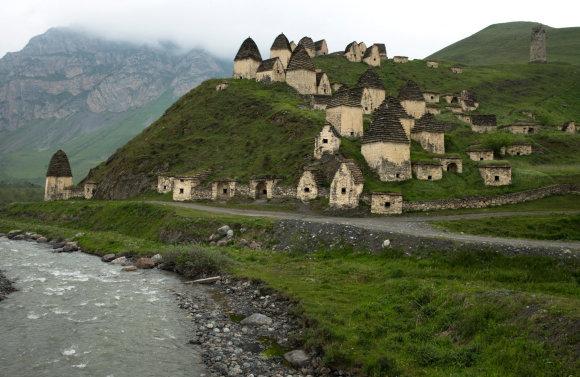 Vida Press nuotr./Mirusiųjų miestas – Dargavsas Šiaurės Osetijoje