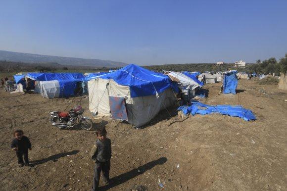 """""""Reuters""""/""""Scanpix"""" nuotr./Pabėgėliai iš Sirijos Turkijoje"""