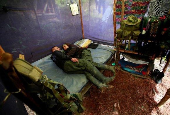 """""""Reuters""""/""""Scanpix"""" nuotr./Paskutinės Kolumbijos ginkluotų revoliucinių pajėgų dienos prieš paskelbtą taiką"""