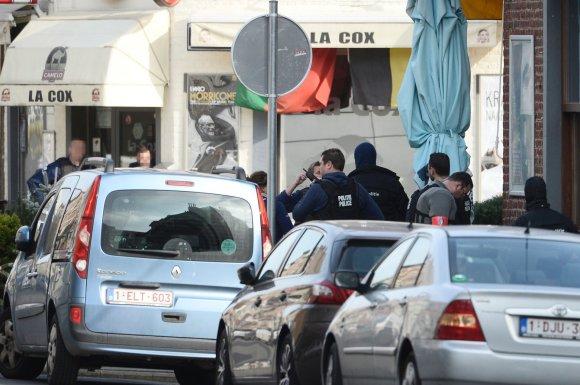 """AFP/""""Scanpix"""" nuotr./Policijos ir teroristų susišaudymas Briuselyje"""