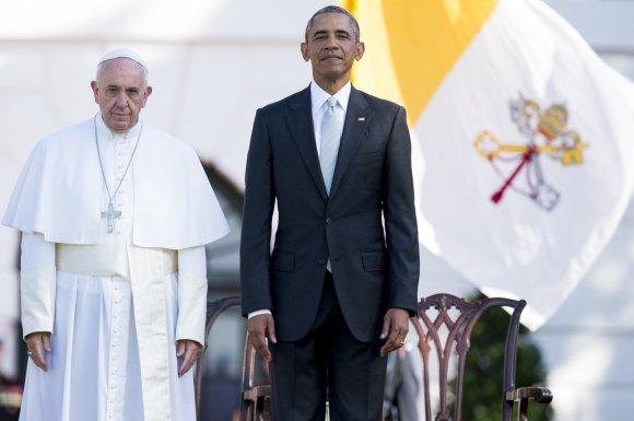 """AFP/""""Scanpix"""" nuotr./Popiežiaus vizitas JAV"""