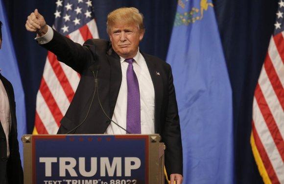 """""""Reuters""""/""""Scanpix"""" nuotr./Trumpas laimėjo balsavimą respublikonų sueigose Nevadoje"""
