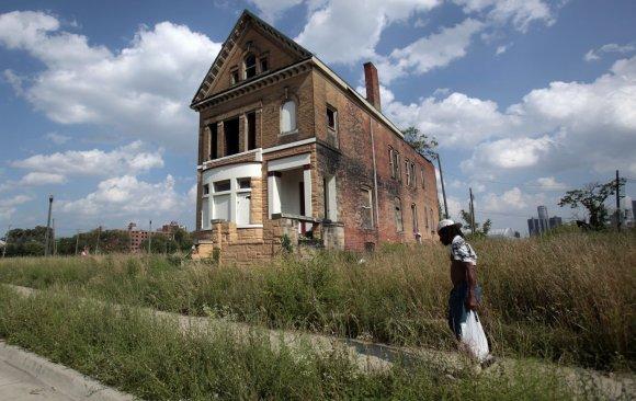 """Reuters""/""Scanpix"" nuotr./Bankrutavęs Detroito miestas"