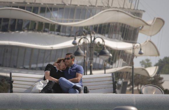 """""""Scanpix""""/AP nuotr./Azerbaidžano sostinė"""