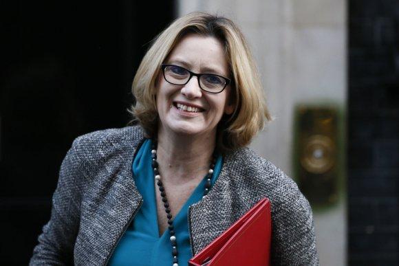 """Reuters""/""Scanpix"" nuotr./Amber Rudd"