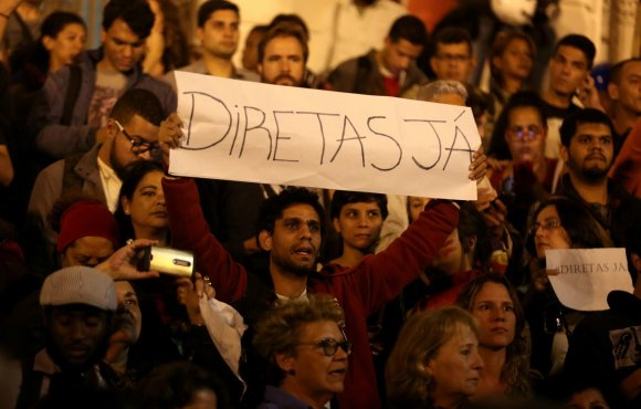 """Reuters""/""Scanpix"" nuotr./Protestas Brazilijoje"