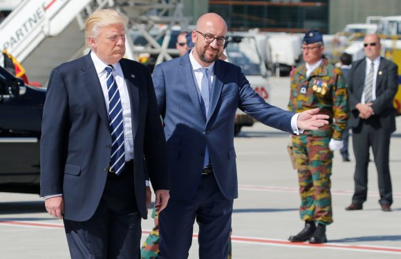 """Reuters""/""Scanpix"" nuotr./Donaldo Trumpo vizitas Belgijoje"