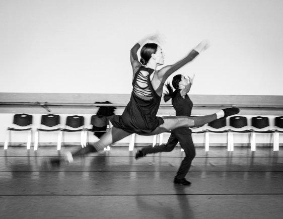 Tomo Ivanausko nuotr./Andželikos Cholinos šokio teatro repeticija